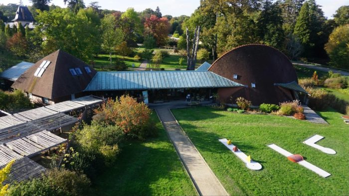 Arboretum des Barres accueil