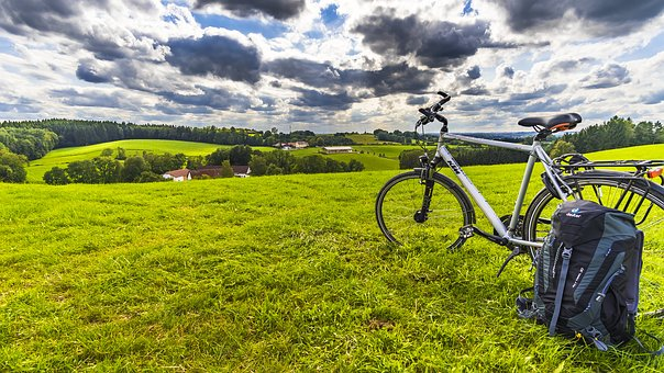 randonnée à vélo