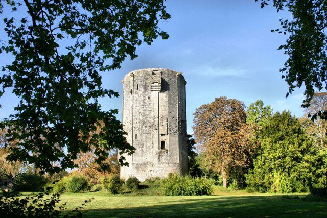 Donjon Château de Châtillon Coligny