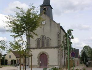 L'église de Châtenoy