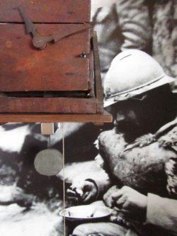 Horloge tranchée guerre mondiale