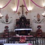 Maître-autel de l'église de Villemoutiers