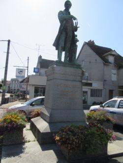 Statue Becquerel