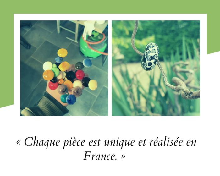 exemples de perles réalisées par Julien Chenault + citation