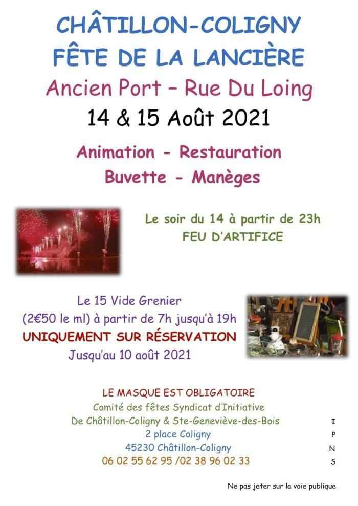 14 & 15-08 Châtillon-Coligny