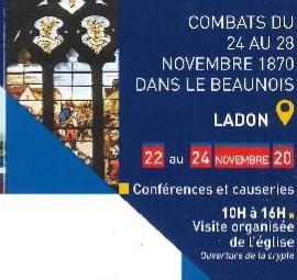 150ème anniversaire Ladon