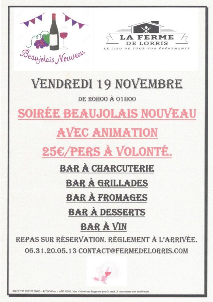 19-11 Lorris Beaujolais Ferme de Lorris