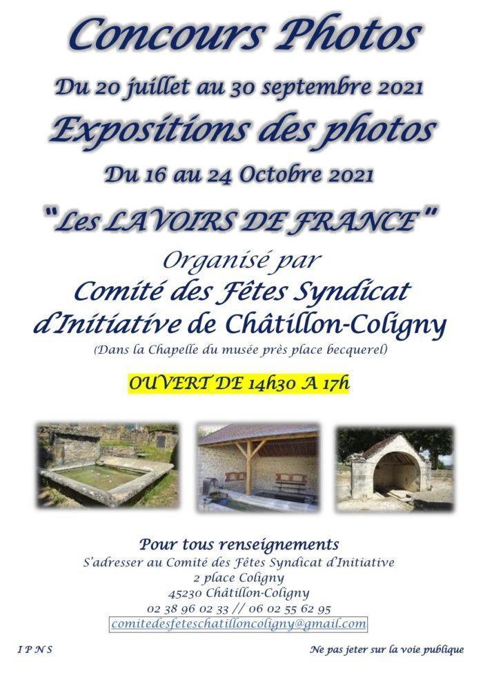 20-07 au 24-10 Châtillon-Coligny