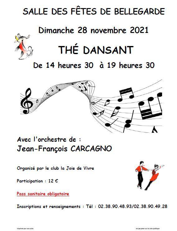 28-11 Bellegarde thé dansant
