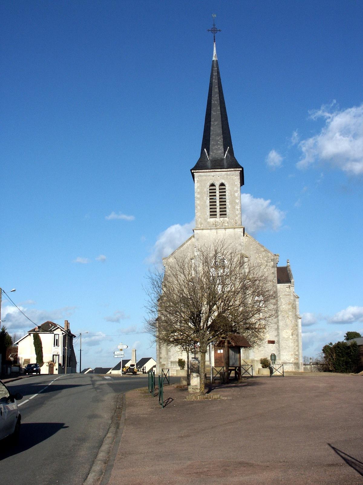Eglise d'Oussoy-en-Gâtinais