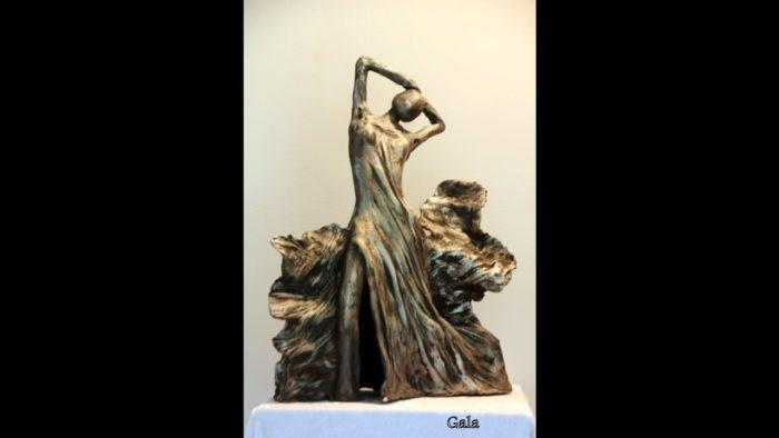 Gala – sculpture @Marie Paule Daubry