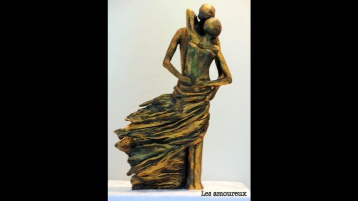 Les amoureux sculpture @Marie Paule Daubry