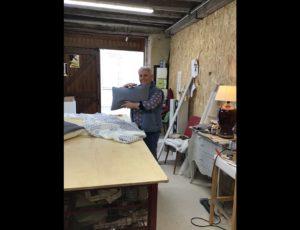 Véronique Rombout, tapissière