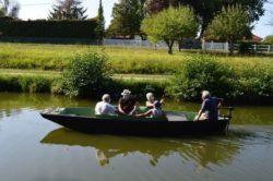 Balade à bord de la flotte de bateaux électriques avec les bateliers de la Belle de Grignon