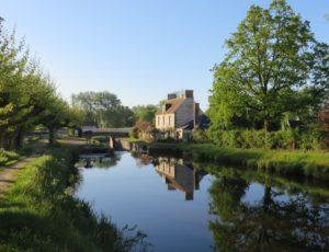 Le Canal d'Orléans devant la maison