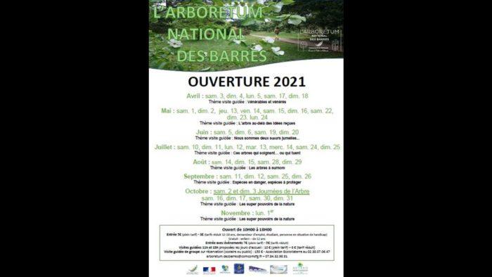 ouverture arbo 2021