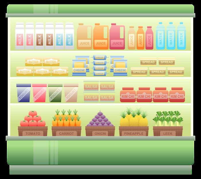 supermarket-shelf-1094824_1920