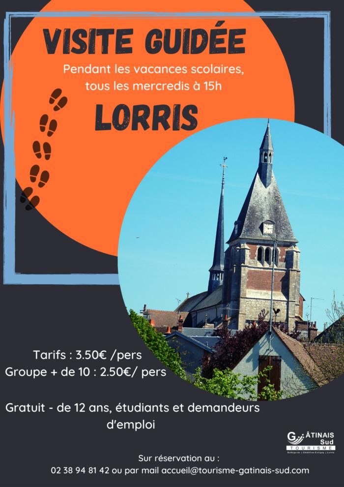 visite guidée Lorris